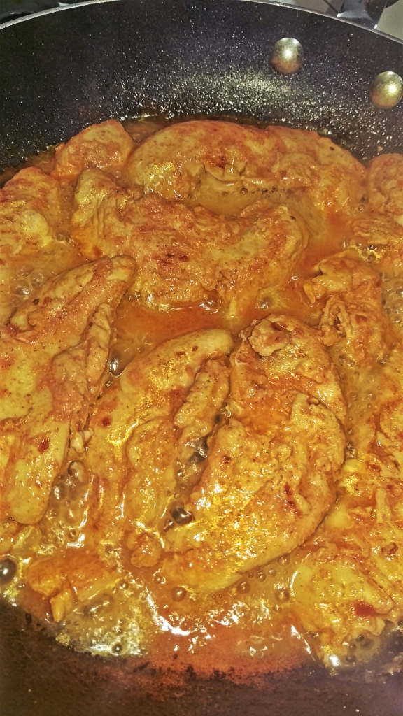 Spicy Lemon Chicken || Biscuits & Burlap