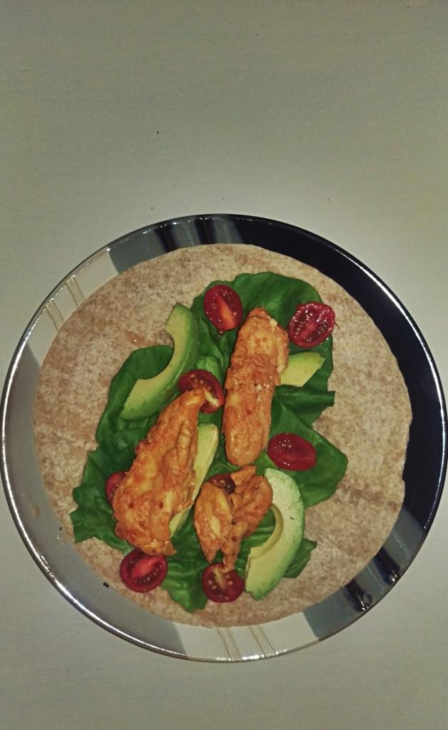 Spicy Lemon Chicken Wraps || Biscuits & Burlap