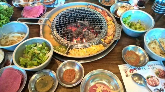 Korean BBQ    Biscuits & Burlap